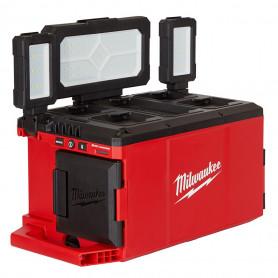PACKOUT éclairage chantier / chargeur batterie