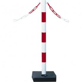 Poteau PVC sur socle