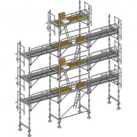 Échafaudage Aéris 45 - 88 m²