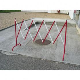 Barrière extensible droite