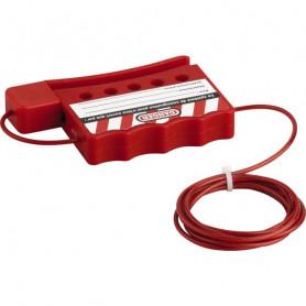 Câble de consignation ajustable
