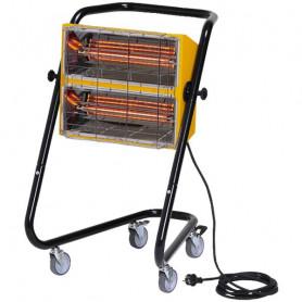 Chauffage mobile électrique halogène