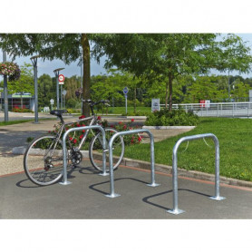 Arceau simple range vélo à platine
