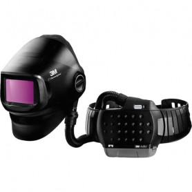 Cagoule de soudage G5-01 Speedglas™ avec filtre de soudage et Adflo™ et sac de transport.