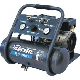 Compresseur mobile silencieux 6 l - 3,6 m³h