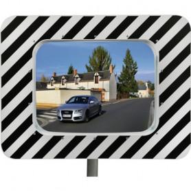 Miroir routier conforme pour agglomérations gamme économique