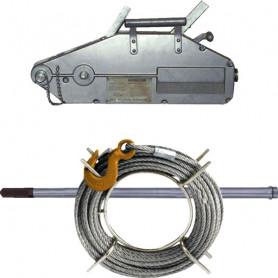 Tireur à câble aluminium