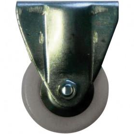 Roulette UNIC caoutchouc gris
