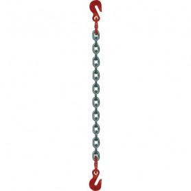 Élingue chaîne 2 crochets raccourcisseurs