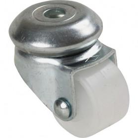 Roulette UNIC polyamide blanc