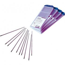 Électrode TIG tunsgtène pur et lanthane 1,5 %