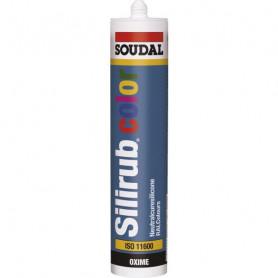 Mastic silicone Silirub color