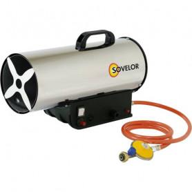 Chauffage air pulsé inox au gaz propane
