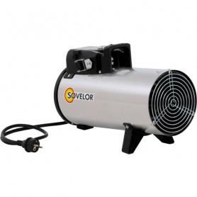 Chauffage à air pulsé électrique inox