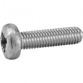 Vis métaux tête cylindrique Pozi inox A2