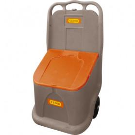 Coffre à sel et à sable mobile 75 litres